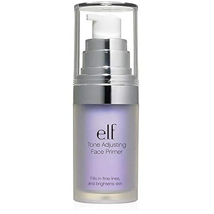 激しい姪こっそり[Elf ] エルフ。ラベンダー403を明るくトーン調整顔プライマー - e.l.f. Tone Adjusting Face Primer Brightening Lavender 403 [並行輸入品]