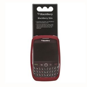 OEM Red Soft Flexible Durable Gel Skin Silicone Case for Blackberry Curve 8900 Javelin by Research In Motion [並行輸入品]