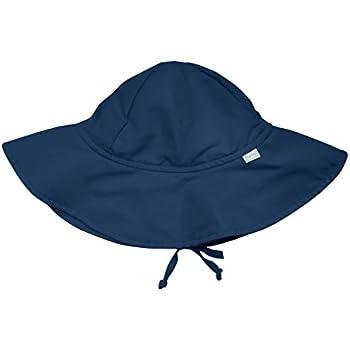 I play(アイプレイ) 帽子 サンハット UVカット あごひも付 ベビー キッズ 帽子 ネイビー INFANT:9-18ヵ月 737100-616-52