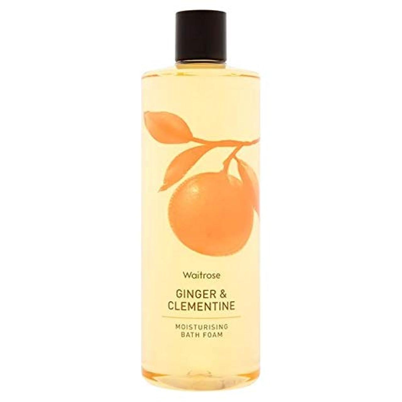 鉛チューブポジション[Waitrose ] ウェイトローズジンジャー&クレメンタイン泡風呂500ミリリットル - Waitrose Ginger & Clementine Foam Bath 500ml [並行輸入品]