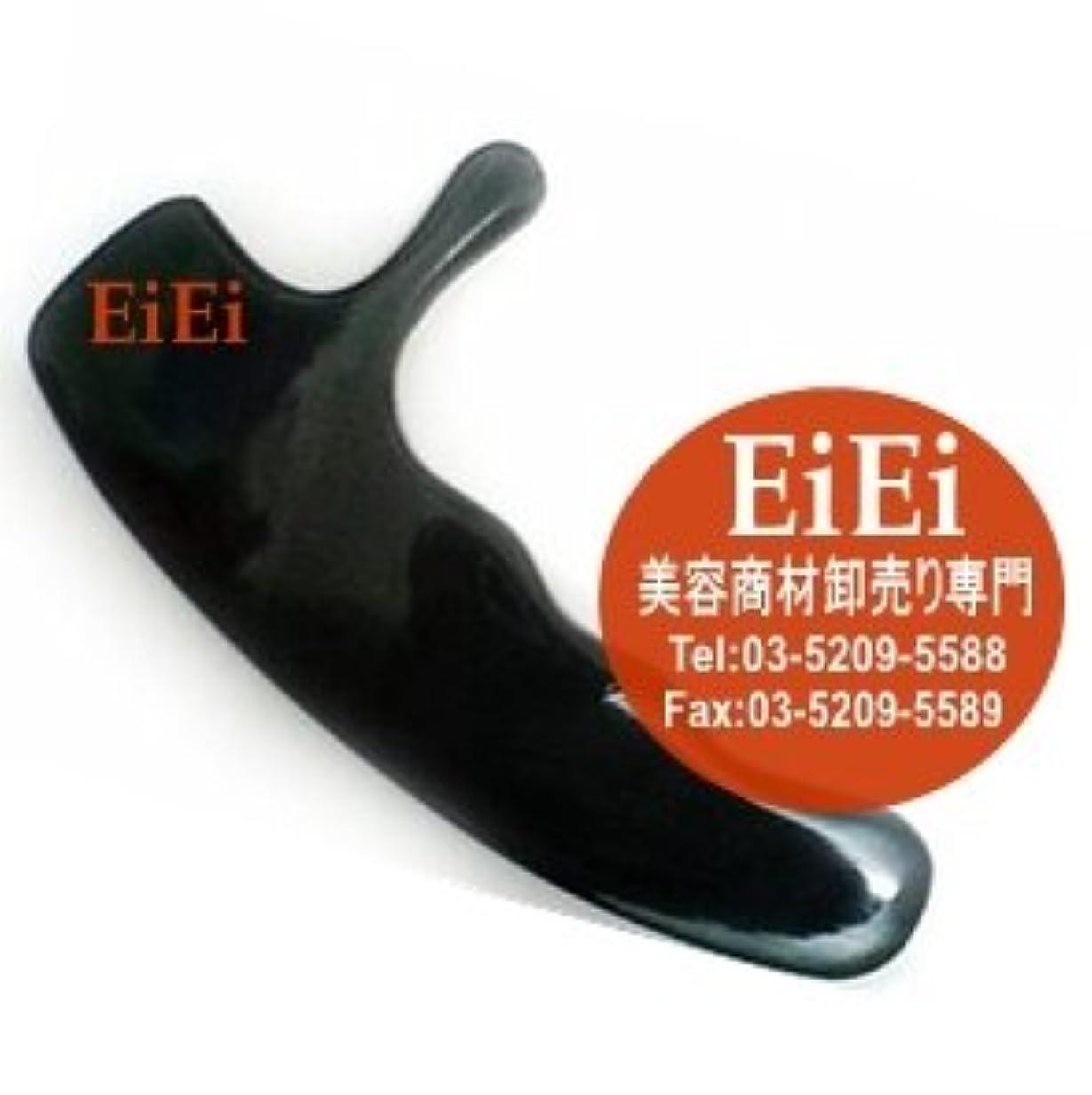 鉛アセンブリ飾るかっさ板 カッサプレート 美容マッサージカッサ板 グアシャ板 水牛の角 A-03