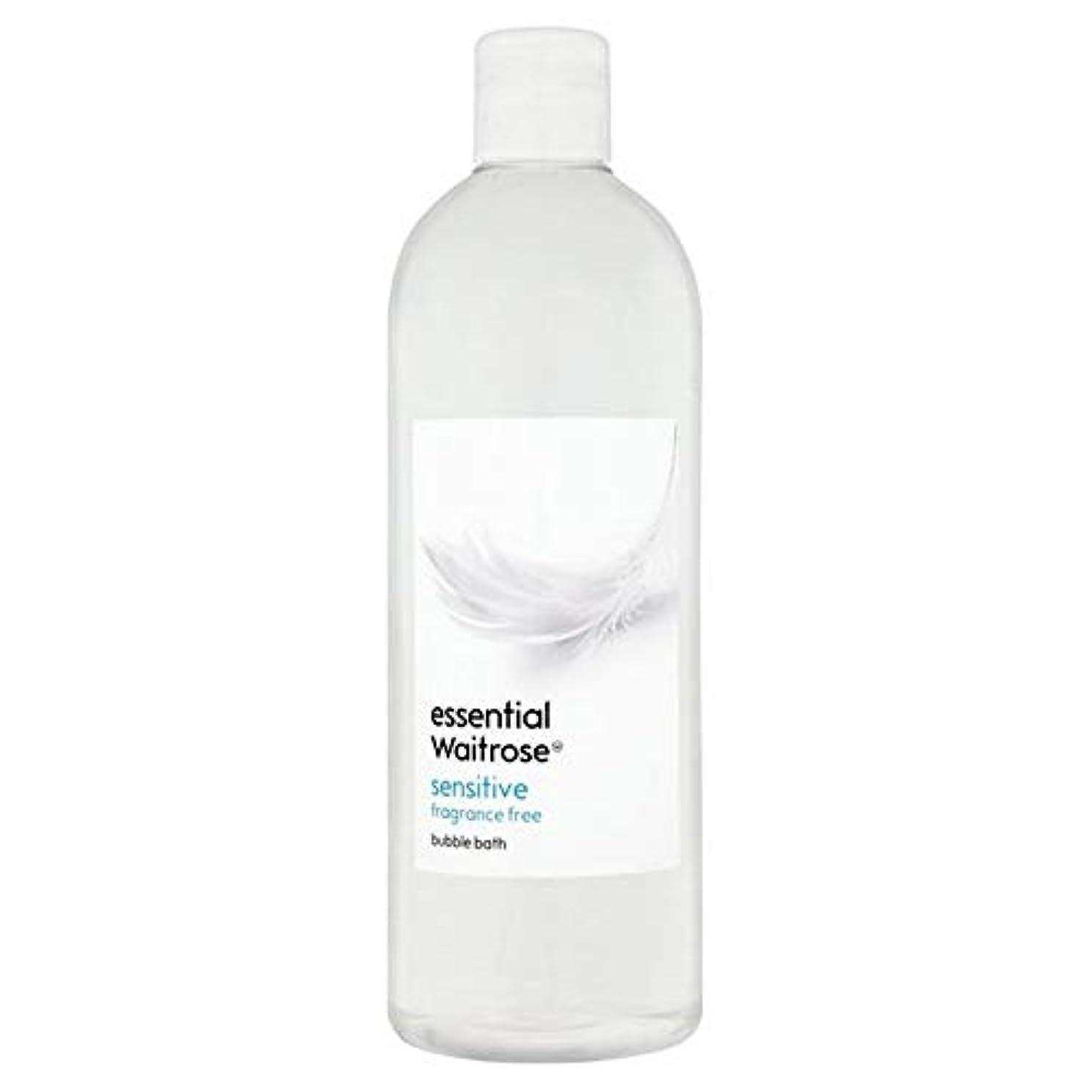 十二狭い液化する[Waitrose ] 基本的なウェイトローズ泡風呂に敏感な750ミリリットル - Essential Waitrose Bubble Bath Sensitive 750ml [並行輸入品]