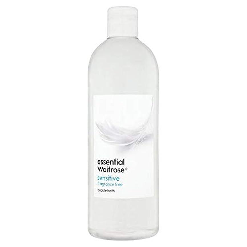 ロール折り目谷[Waitrose ] 基本的なウェイトローズ泡風呂に敏感な750ミリリットル - Essential Waitrose Bubble Bath Sensitive 750ml [並行輸入品]