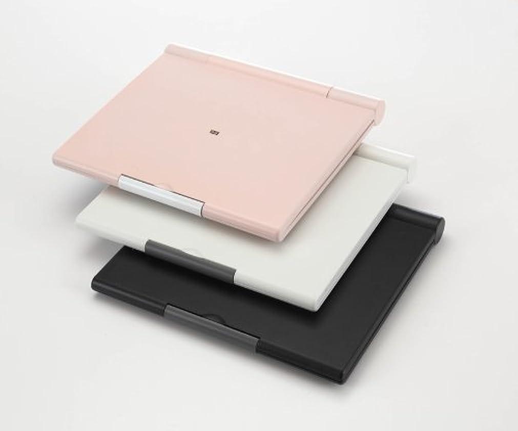 釈義粗いベスト卓上型三面鏡セイルミラー【A4-M6】 (白)