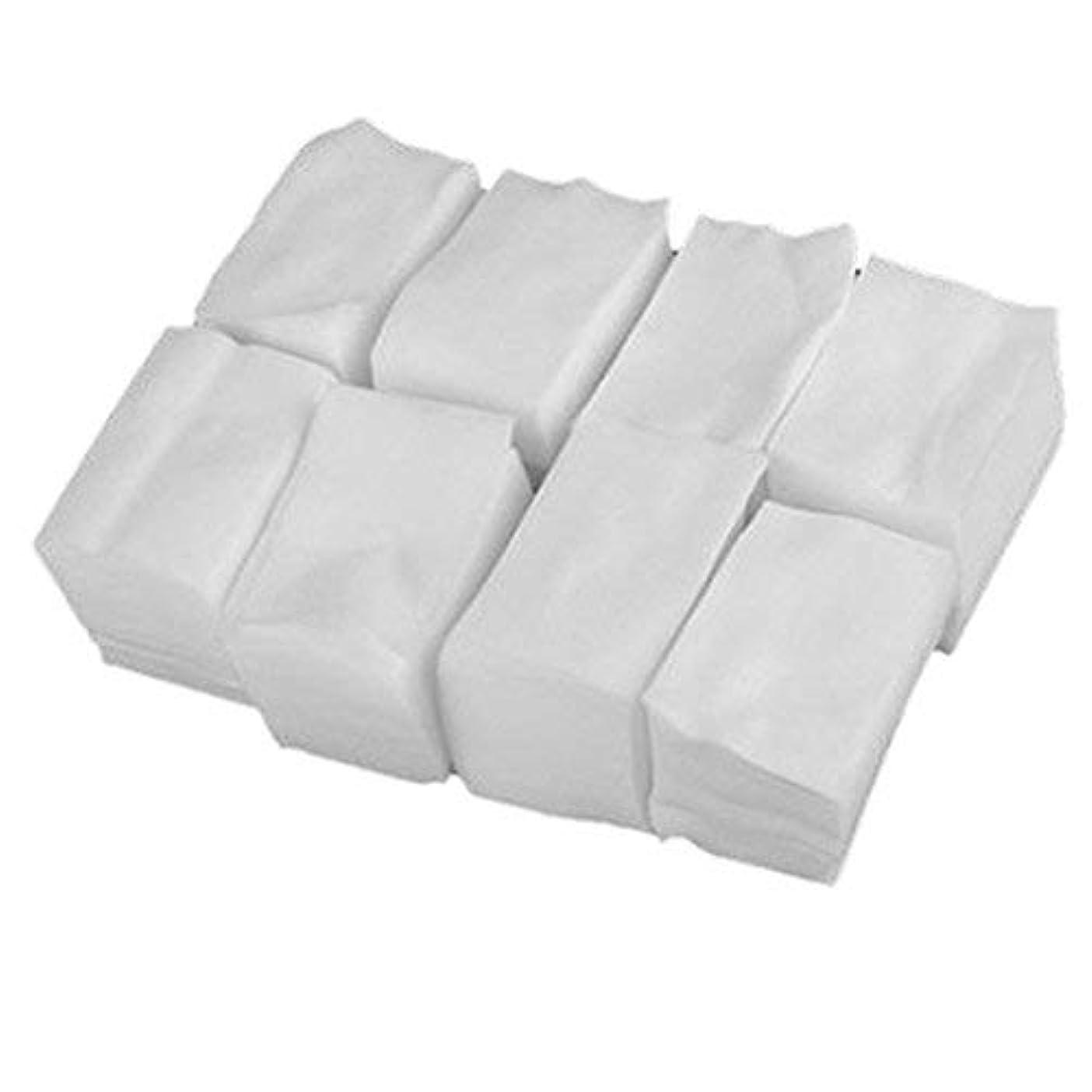 貪欲感性せせらぎ1st market プレミアム 人気 900x白いリントフリーネイルアート ワイプ紙パッド ゲルアクリルのヒント ポリッシュリムーバークリーナー(6cm x 5cm) 便利