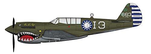 ホビーマスター 1/72 カーチス P-40N 中華民国空軍 完成品の詳細を見る