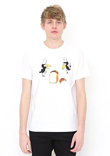 (グラニフ)graniph コラボレーションTシャツ / からすのパンやさん ( かこさとし ) ( ホワイト ) S