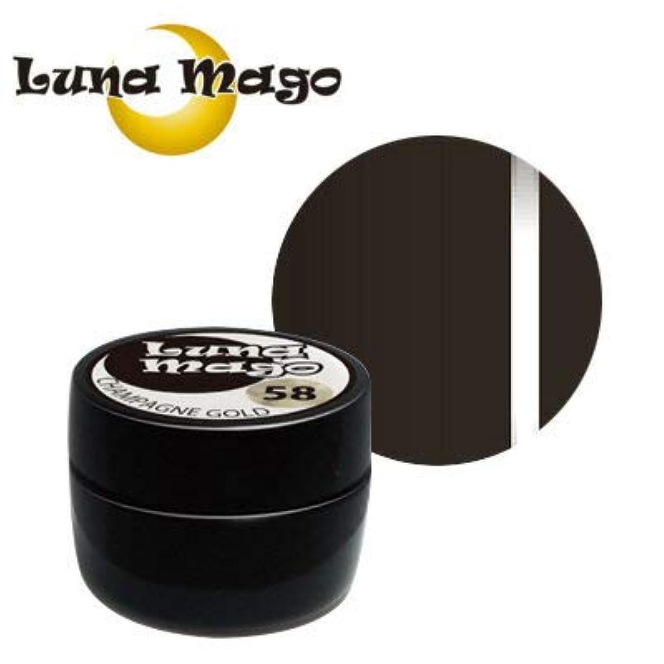 ワックス内向き依存Luna Mago カラージェル 5g 051 チョコ