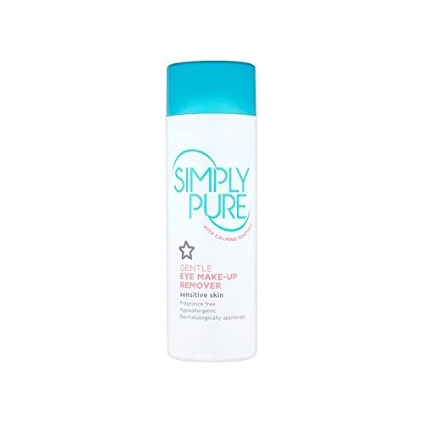 Simply Pure Gentle Eye Make-Up Remover 150ml (Pack of 6) - 単に純粋な優しい目メイクアップリムーバー150ミリリットル x6 [並行輸入品]