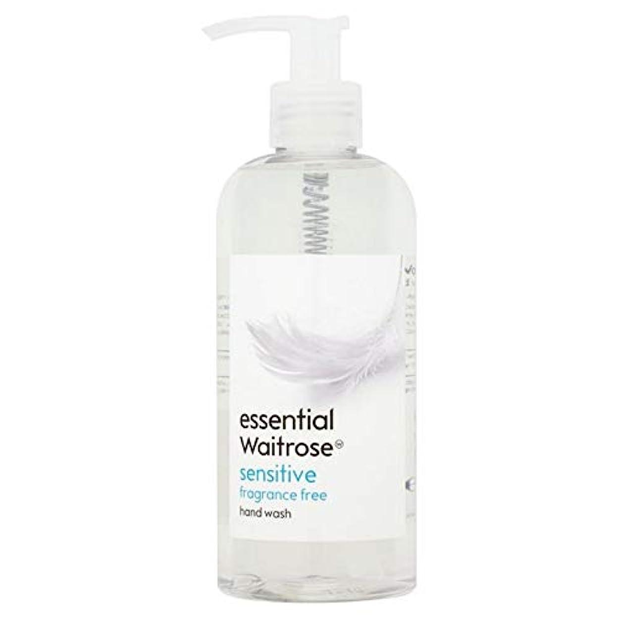 ラショナル証言不愉快[Waitrose ] 基本的なウェイトローズのハンドウォッシュ敏感な300ミリリットル - Essential Waitrose Hand Wash Sensitive 300ml [並行輸入品]