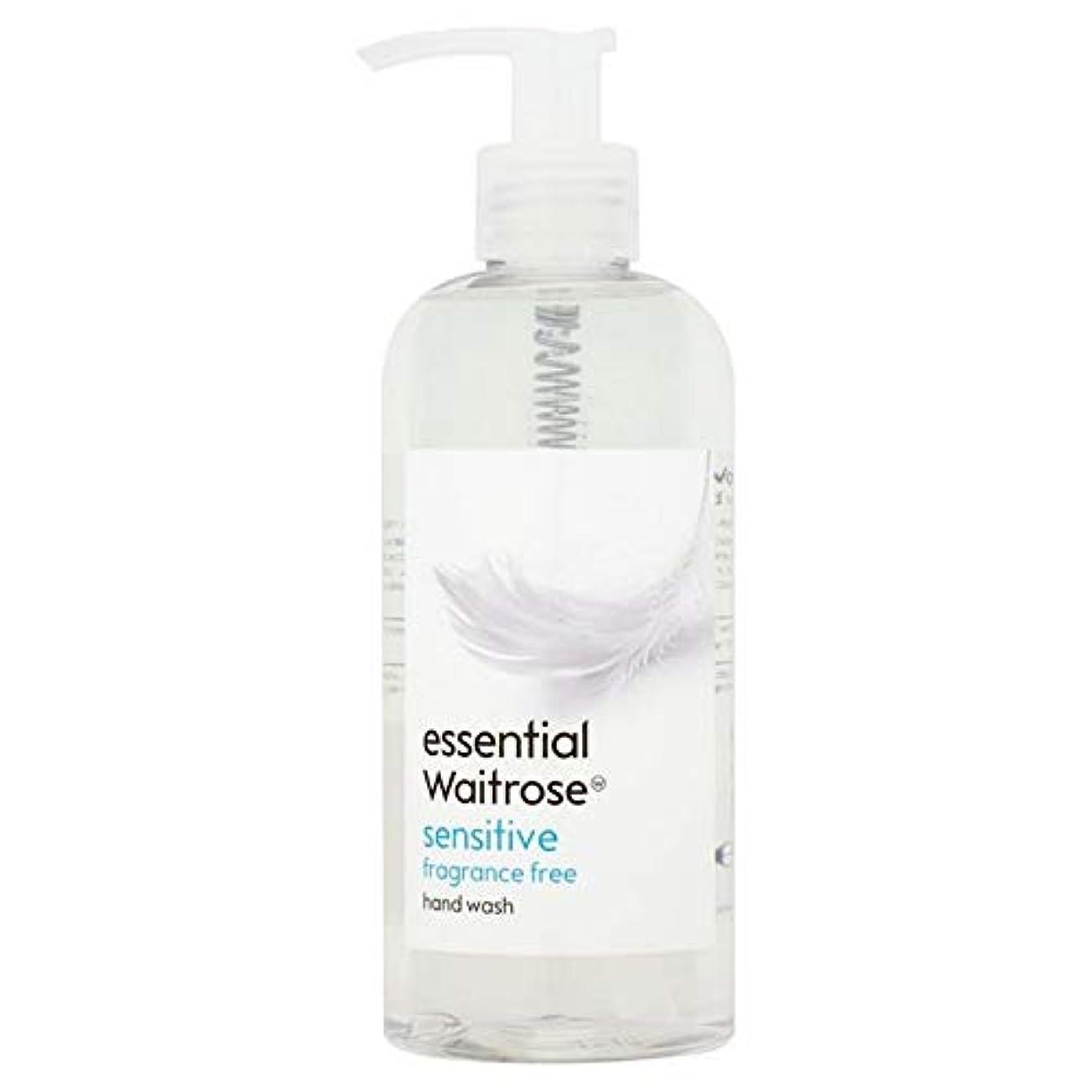 慰めバンケット反発[Waitrose ] 基本的なウェイトローズのハンドウォッシュ敏感な300ミリリットル - Essential Waitrose Hand Wash Sensitive 300ml [並行輸入品]