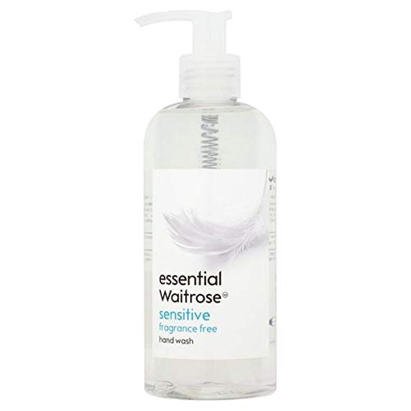 具体的に寝てるおしゃれじゃない[Waitrose ] 基本的なウェイトローズのハンドウォッシュ敏感な300ミリリットル - Essential Waitrose Hand Wash Sensitive 300ml [並行輸入品]