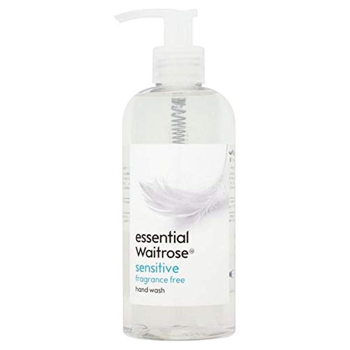 億誤って浸透する[Waitrose ] 基本的なウェイトローズのハンドウォッシュ敏感な300ミリリットル - Essential Waitrose Hand Wash Sensitive 300ml [並行輸入品]