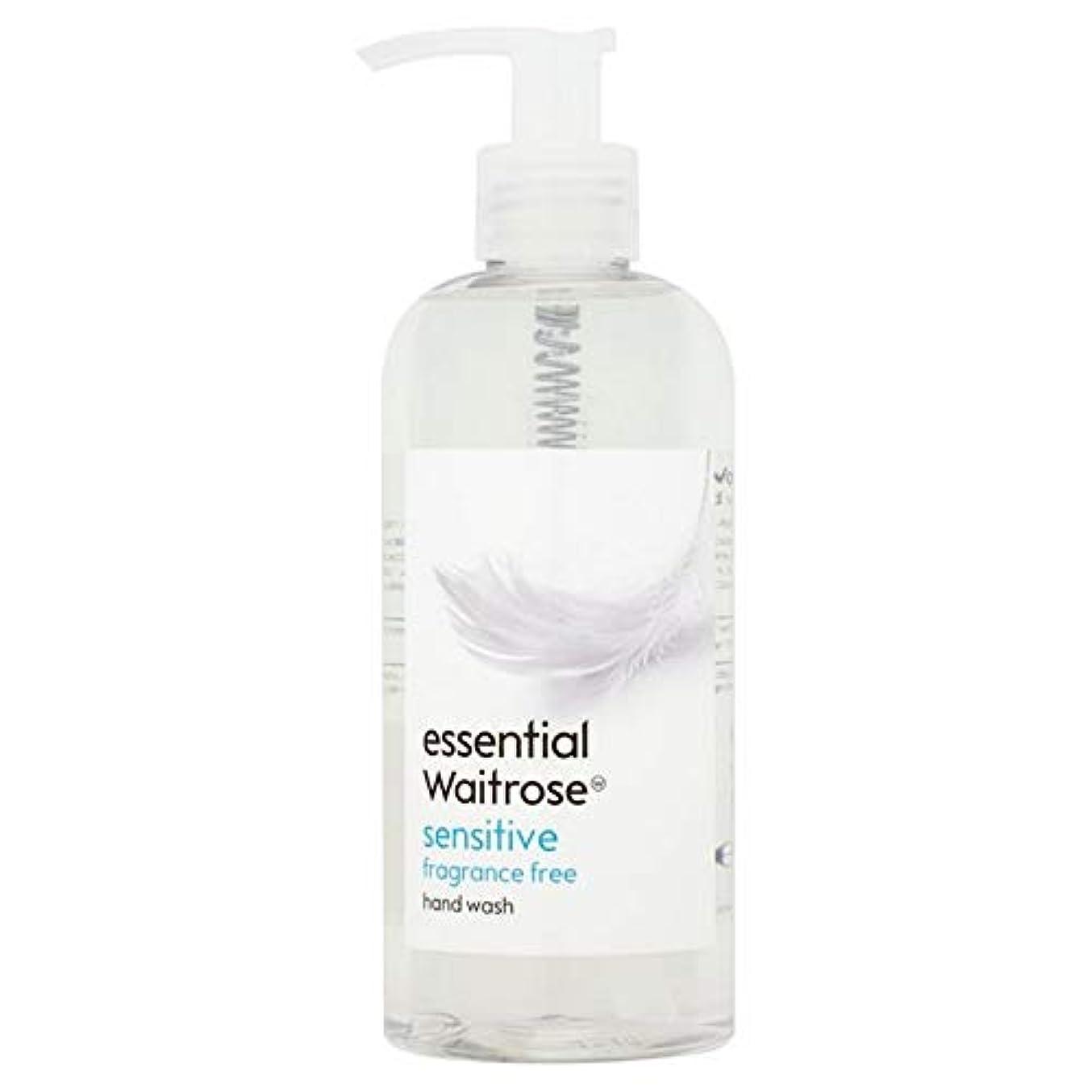 アンタゴニストゆりかご着る[Waitrose ] 基本的なウェイトローズのハンドウォッシュ敏感な300ミリリットル - Essential Waitrose Hand Wash Sensitive 300ml [並行輸入品]