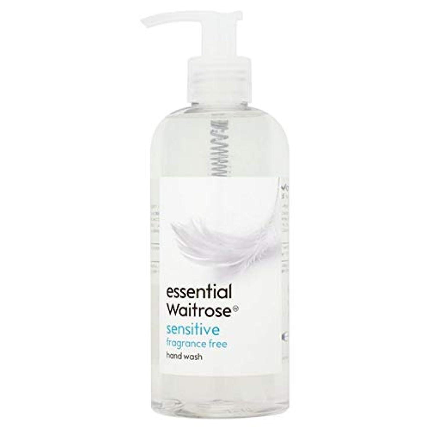 船員収容するチェス[Waitrose ] 基本的なウェイトローズのハンドウォッシュ敏感な300ミリリットル - Essential Waitrose Hand Wash Sensitive 300ml [並行輸入品]