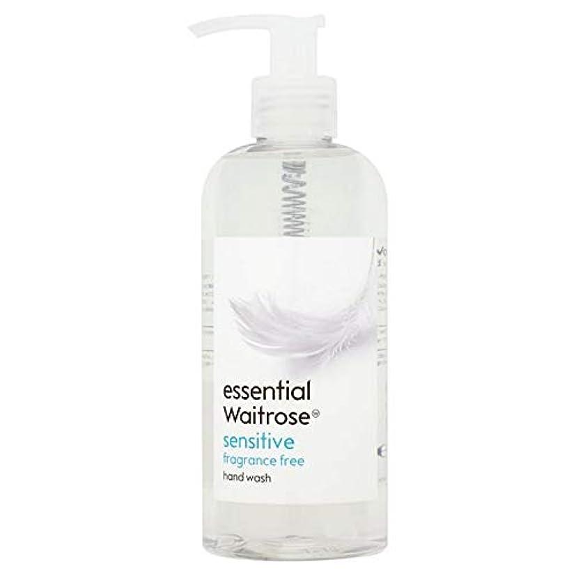平和な一致する開業医[Waitrose ] 基本的なウェイトローズのハンドウォッシュ敏感な300ミリリットル - Essential Waitrose Hand Wash Sensitive 300ml [並行輸入品]