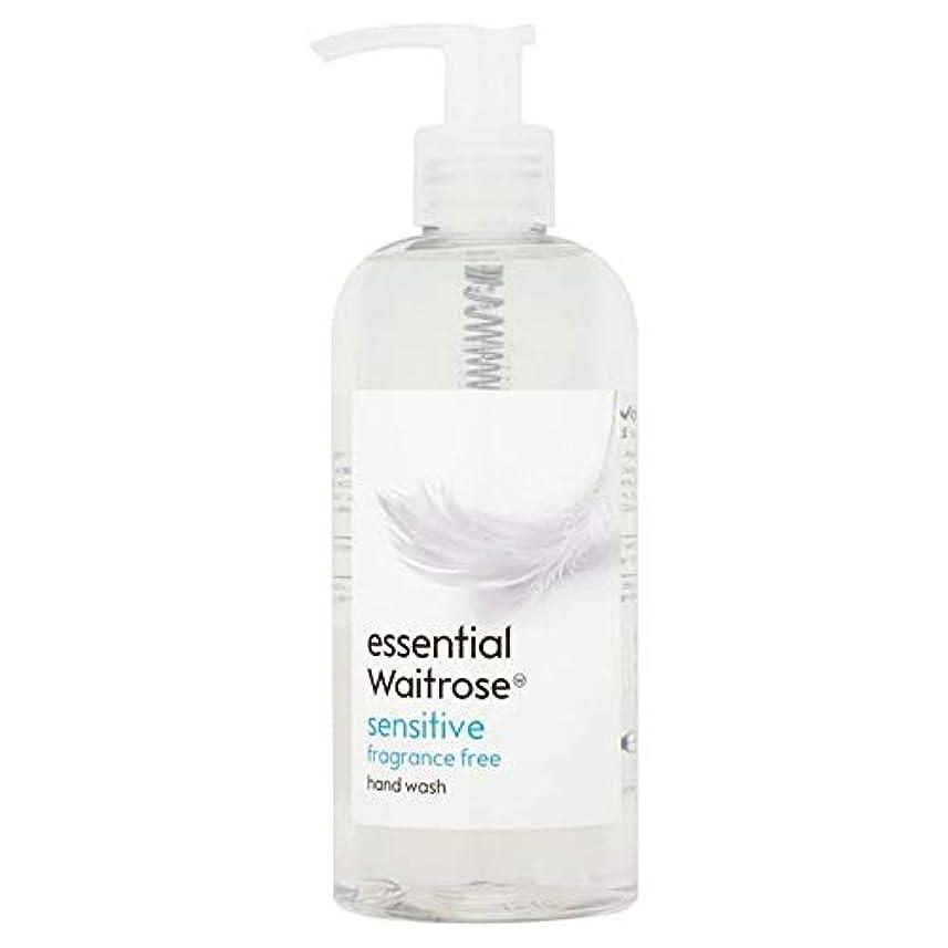むさぼり食うプラス田舎[Waitrose ] 基本的なウェイトローズのハンドウォッシュ敏感な300ミリリットル - Essential Waitrose Hand Wash Sensitive 300ml [並行輸入品]