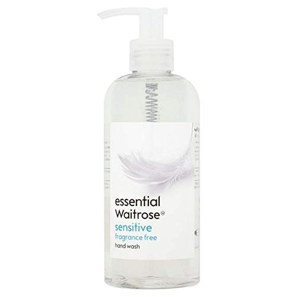 不平を言うノーブル後ろ、背後、背面(部[Waitrose ] 基本的なウェイトローズのハンドウォッシュ敏感な300ミリリットル - Essential Waitrose Hand Wash Sensitive 300ml [並行輸入品]