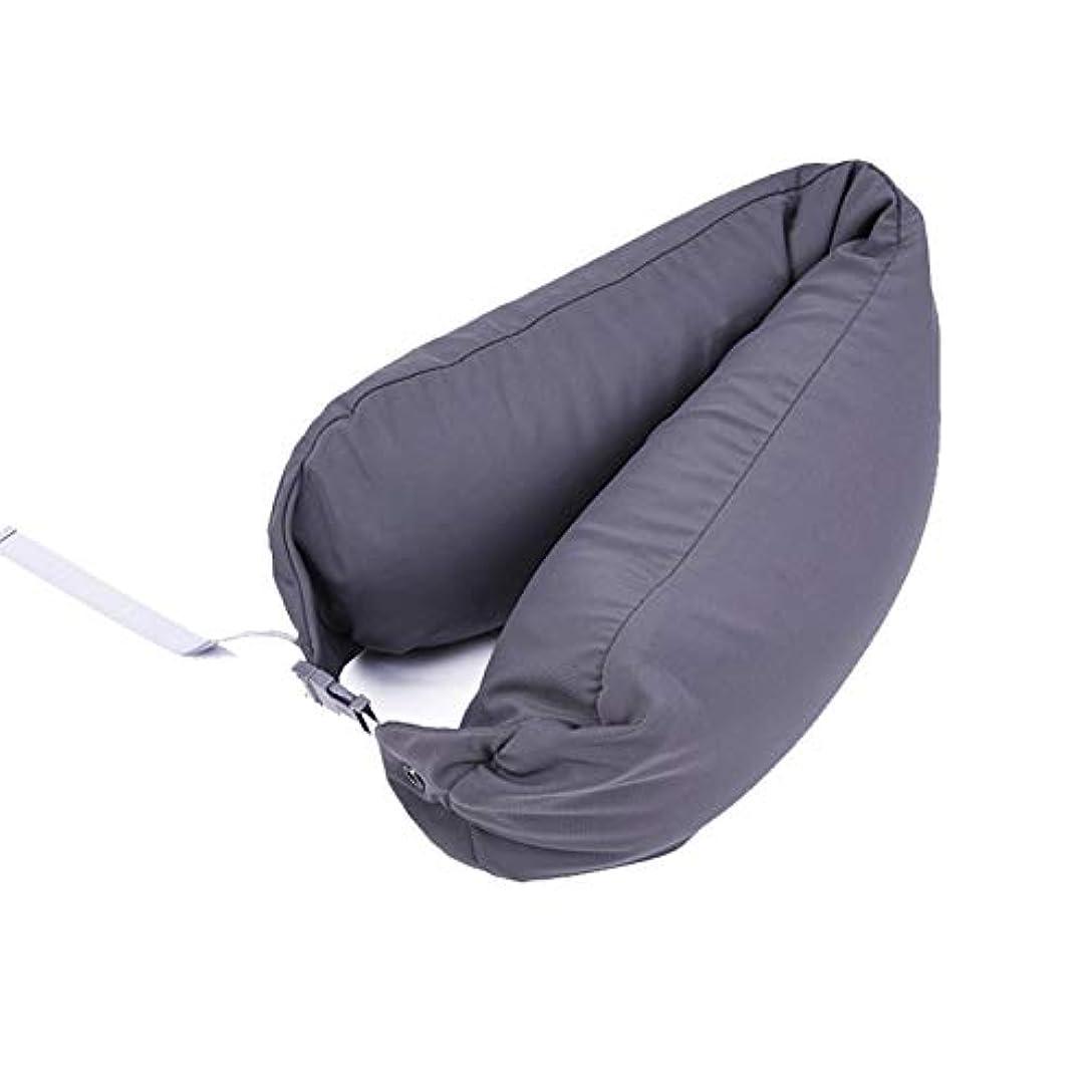緩める花弁与えるSMART ホームオフィス背もたれ椅子腰椎クッションカーシートネック枕 3D 低反発サポートバックマッサージウエストレスリビング枕 クッション 椅子