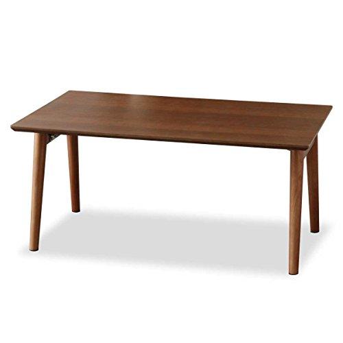 ottostyle.jp 木製折りたたみテーブル ウッドテーブル 75×45×35cm 【ウォールナット】