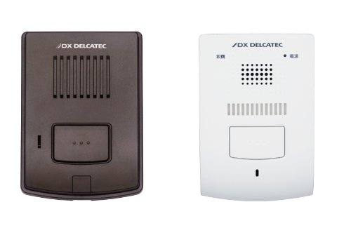 DXアンテナ ワイヤレスインターホン 親機&玄関子機セット DWP10A1