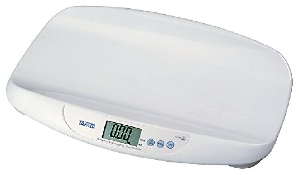 確かな二度合計タニタ 体重計 デジタルベビースケール ホワイト BD-586-WH