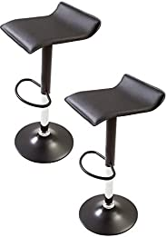 System K Counter Chair, Rotating, Elevating, Bar Chair, Compact, Lightweight, Stool, Dining Kitchen, Black, Se