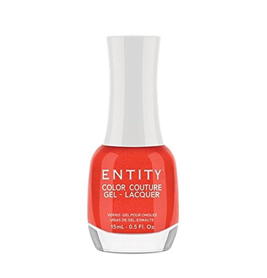 軽蔑リーフレット週間Entity Color Couture Gel-Lacquer - Divalicious - 15 ml/0.5 oz
