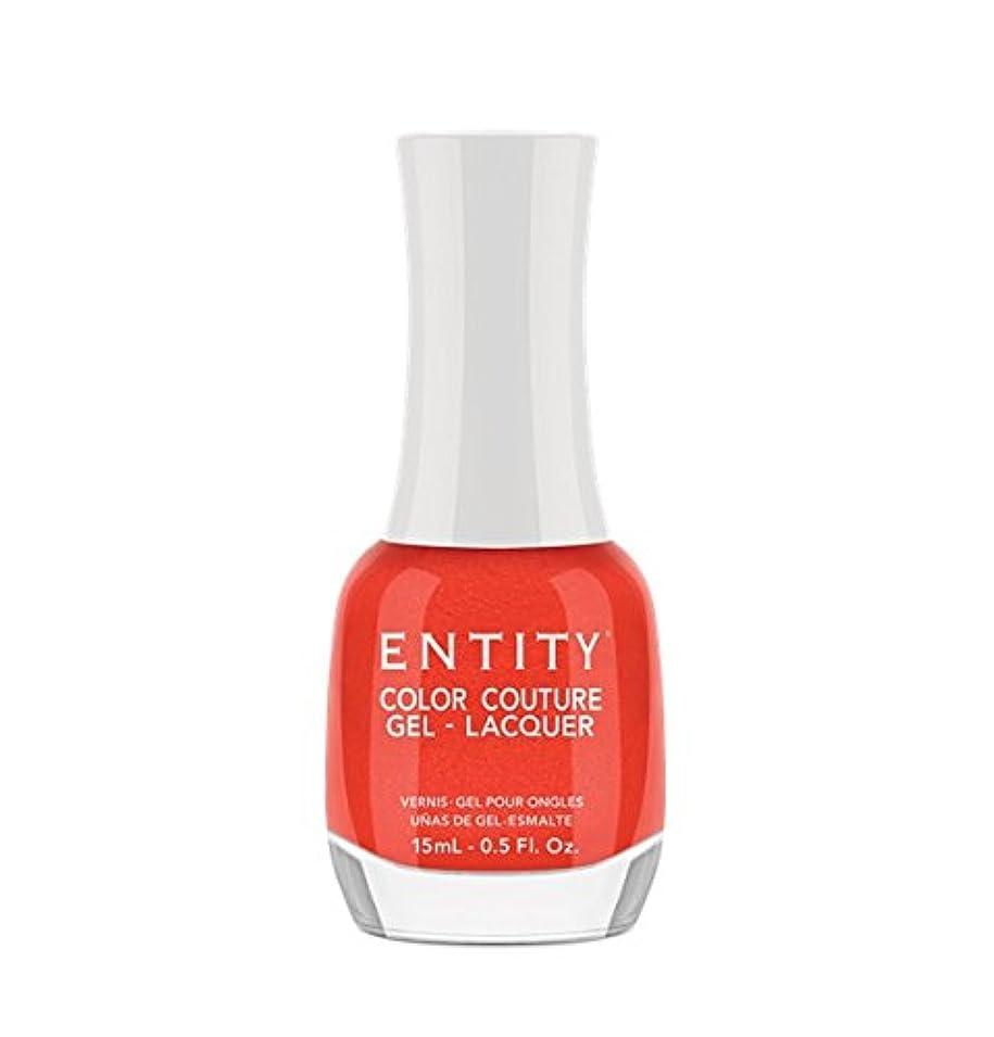 プロフェッショナル建築洪水Entity Color Couture Gel-Lacquer - Divalicious - 15 ml/0.5 oz