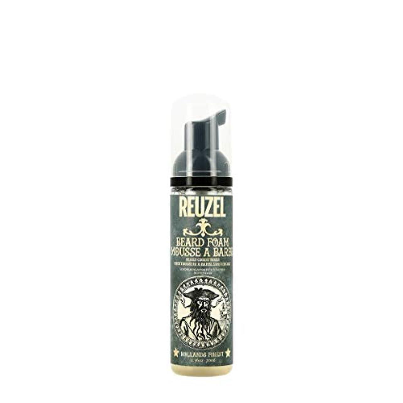 平手打ち不適当人生を作るルーゾー Reuzel Beard Foam - Beard Conditioner 70 ml [並行輸入品]