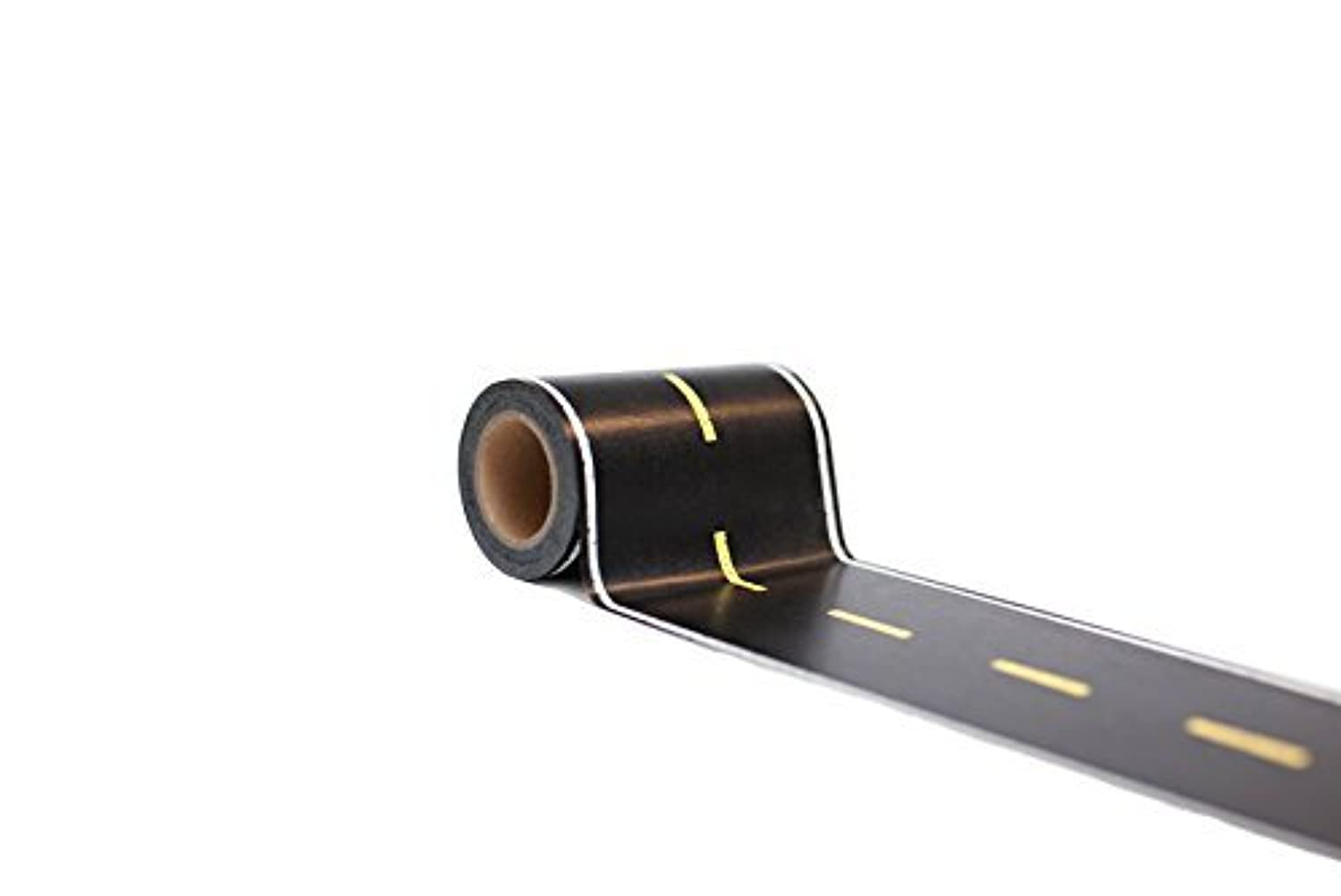 Car Tape Extra Long and Wide! 3.5 in x 50 ft Toy Car Road Tape Track for Kids Great Accessory to Die Cast Cars and Train Sets. Sticker with Printed Street to Play on Floors. [並行輸入品]
