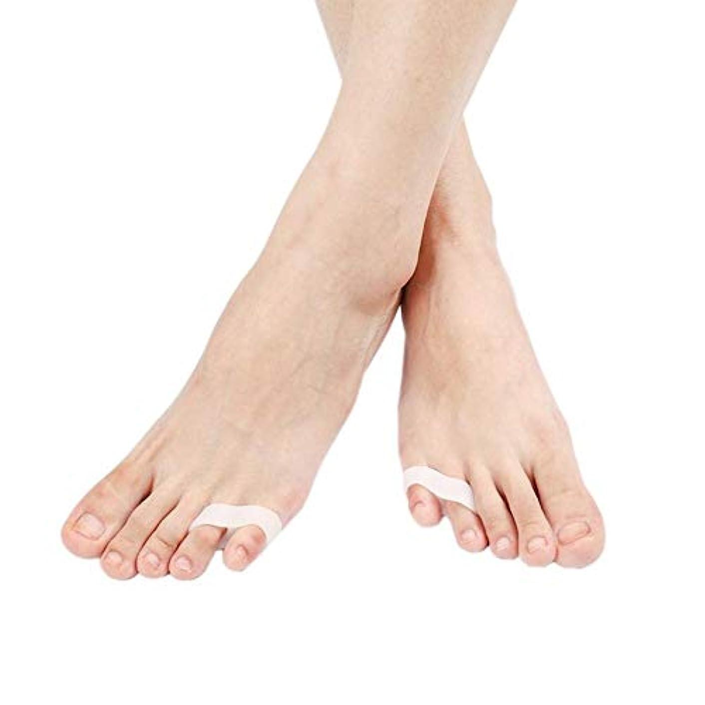 化学薬品額神秘内反小趾 サポーター 足指分離パッド 小指サポーター 内反小趾矯正 内反小趾対策 歩行の負担を軽減 衝撃吸収 足指広げケア セパレーター フィットケア グッズ 男女適用 おしゃれ 人気