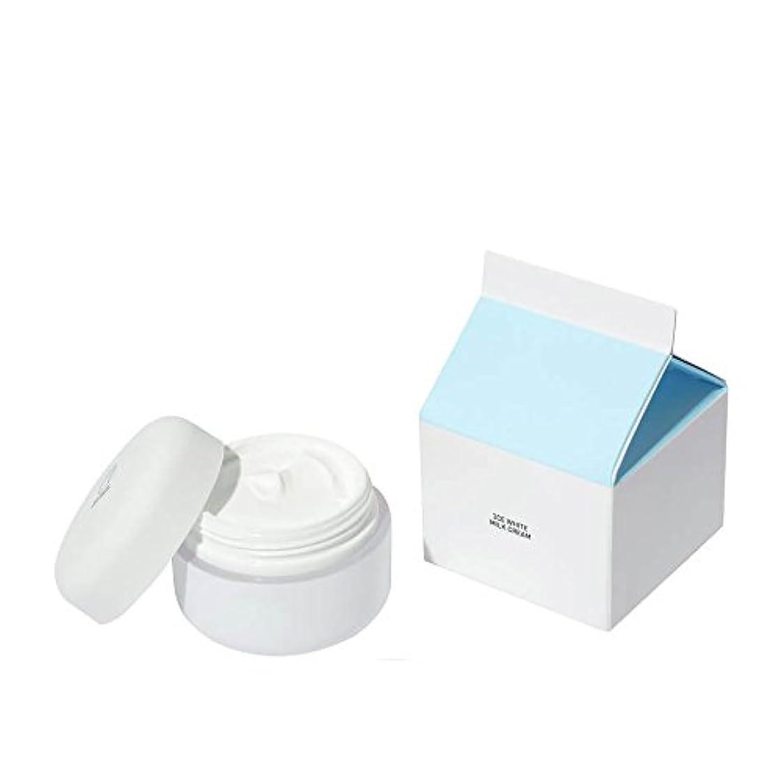 延ばす白い自己尊重[3CE] ホワイトミルククリーム(White Milk Cream) 50g