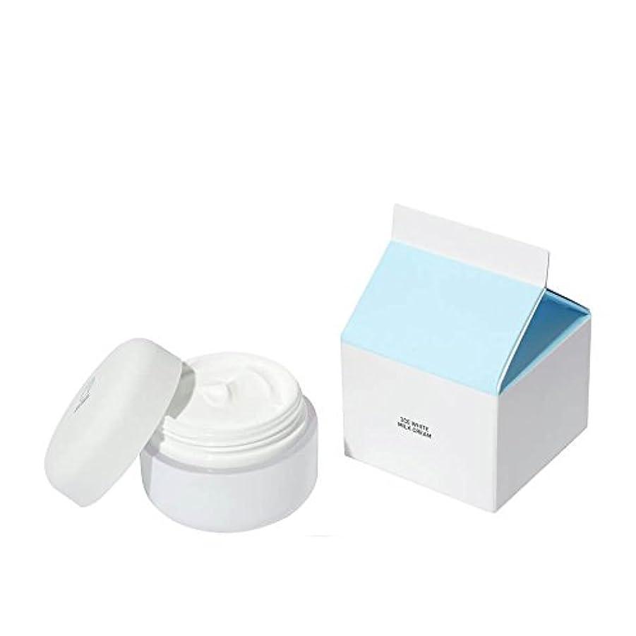 精神不毛タイプライター[3CE] ホワイトミルククリーム(White Milk Cream) 50g