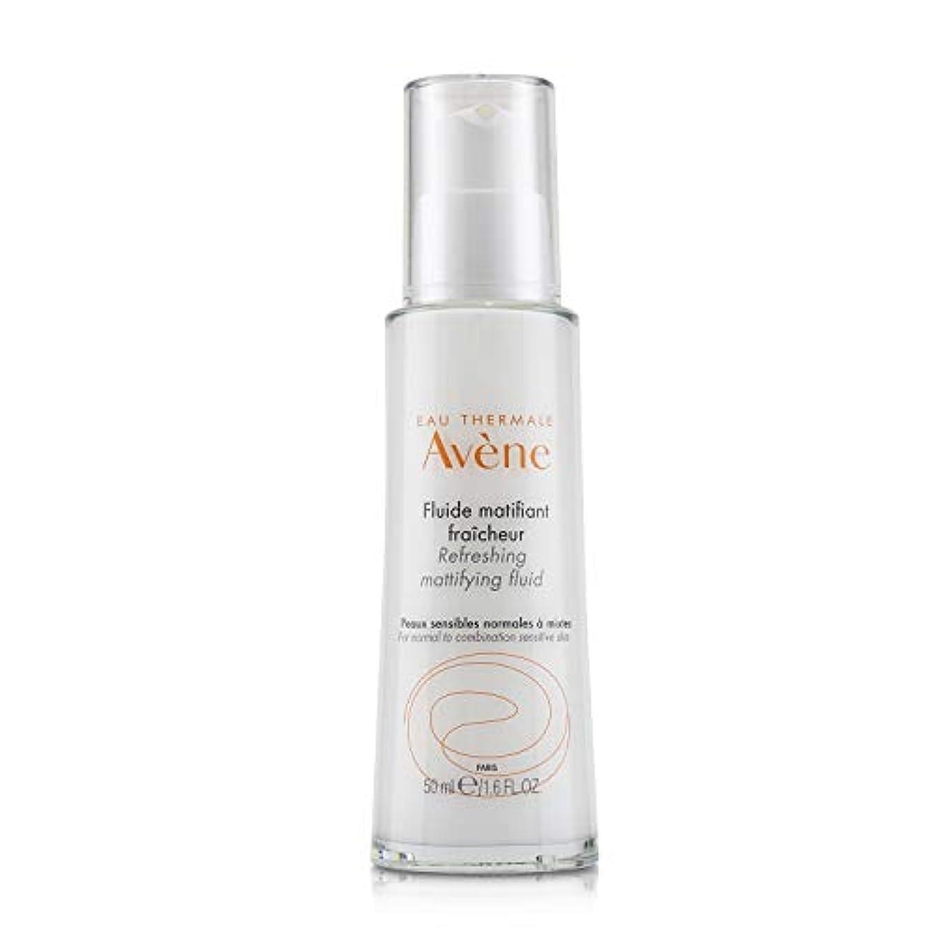 全体腫瘍胆嚢アベンヌ Refreshing Mattifying Fluid - For Normal to Combination Sensitive Skin 50ml/1.6oz並行輸入品