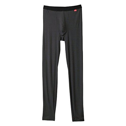 (グンゼ)GUNZE ズボン下 メンズ ホットマジック 柔らか温か タイツ 前あき MH1901 94 チャコールグレー LL