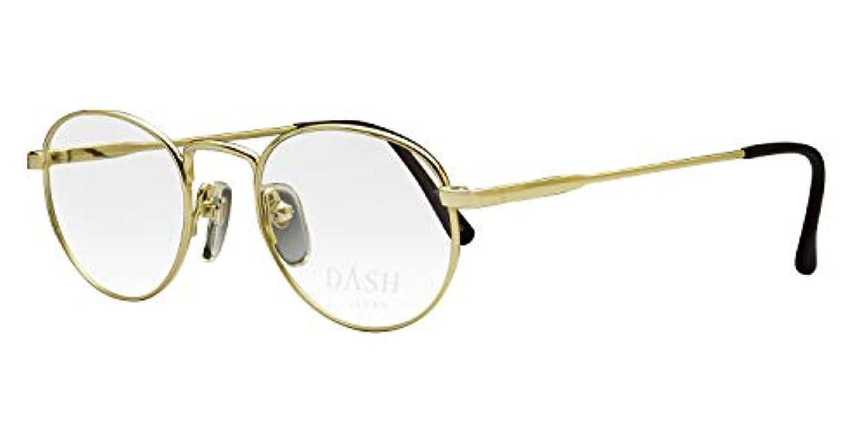 鯖江ワークス(SABAE WORKS) 老眼鏡 オーバル ゴールド 広い視界 DH82 +0.50