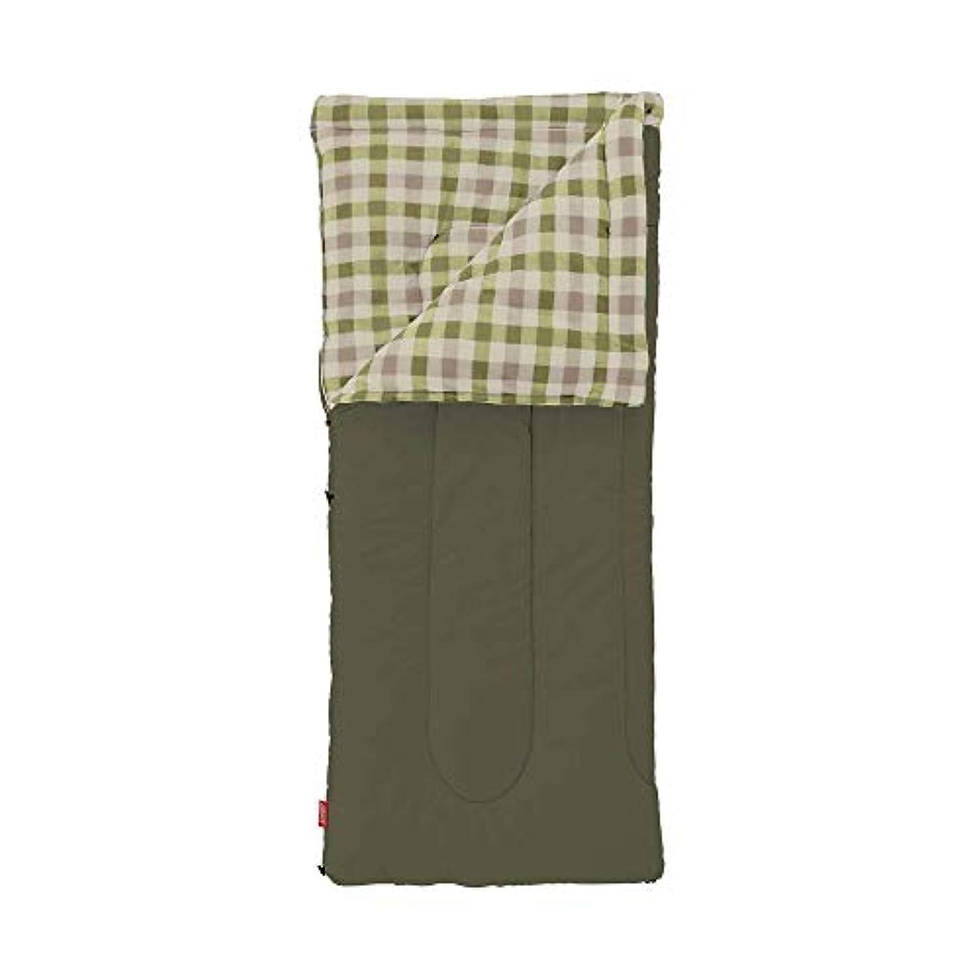 腸ナット請求可能コールマン(Coleman) 寝袋 フリースEZキャリー C0 使用可能温度0度 封筒型 オリーブリーフ 2000033802