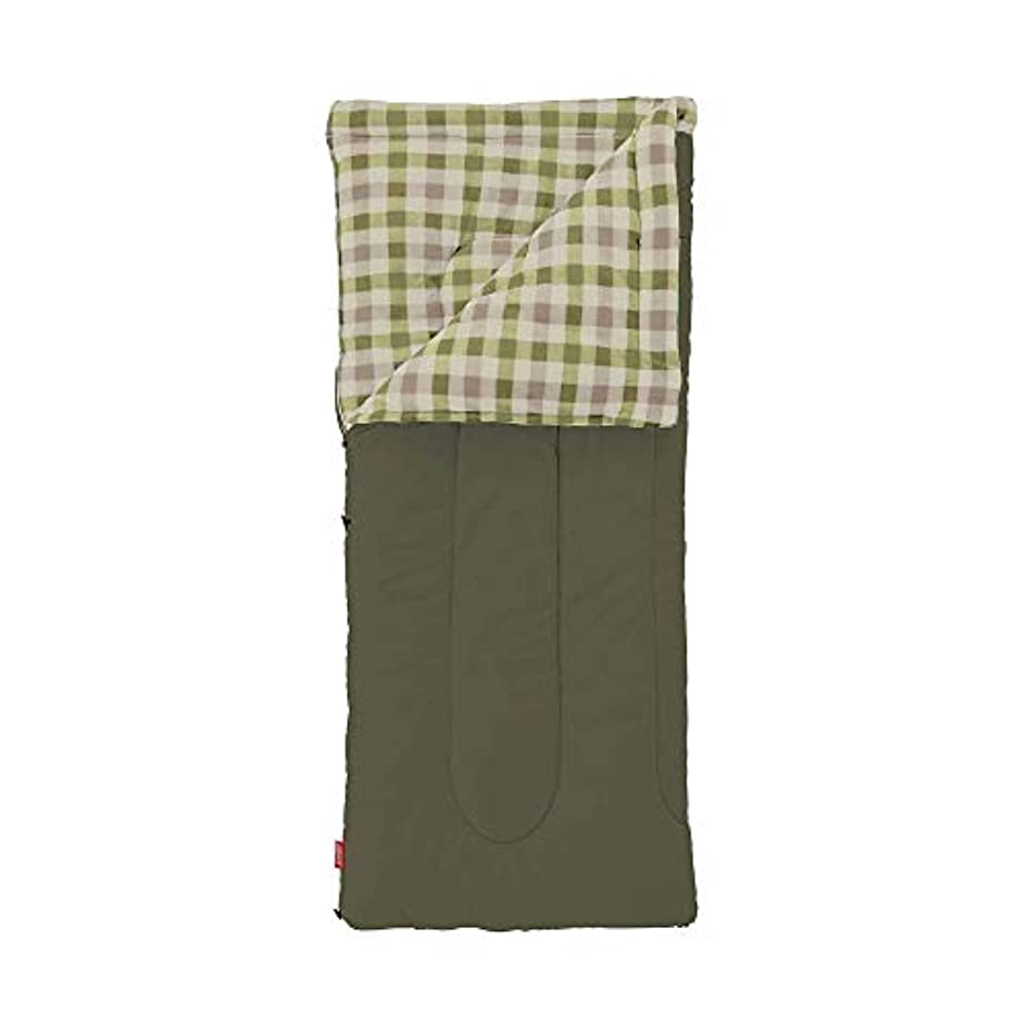 酸っぱい痛い出会いコールマン(Coleman) 寝袋 フリースEZキャリー C0 使用可能温度0度 封筒型 オリーブリーフ 2000033802