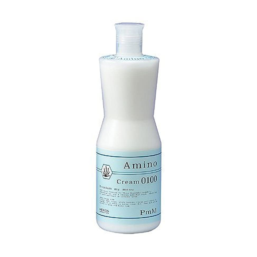 レイあらゆる種類の味付けメロスコスメティックス PmM アミノクリーム0100(しっとりタイプ) 1000g