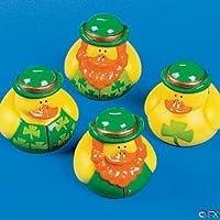 One Dozen (12) Irish St. Patrick's Day Rubber Ducks [並行輸入品]