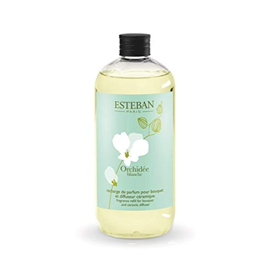 スラム街ギャロップ賭けESTEBAN Orchidee blanche(オルキデ ブランシュ) フレグランスリフィル500ml