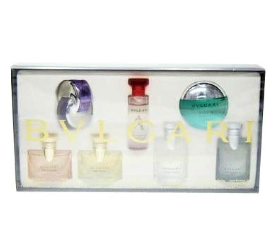 矢支出何でもブルガリ ミニチュア 香水 7点セット 5ml×7 (並行輸入) オパフメ オーテルージュ オムニア アメジスト