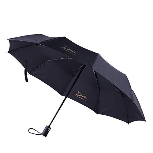 DORE 折りたたみ傘 紳士傘 自動開閉 軽量 晴雨兼用 耐風 超撥水 手作...