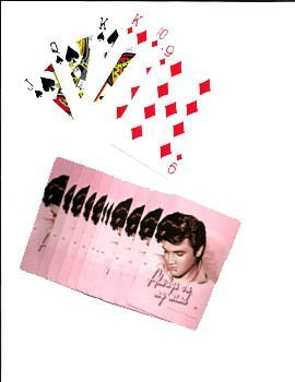 Elvis Always On My Mind Playing Cards