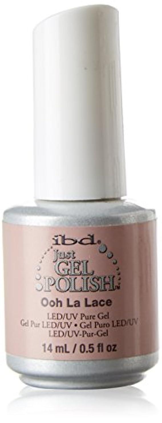 ストレッチ追い越す人道的ibd Just Gel Nail Polish - Ooh La Lace - 14ml / 0.5oz