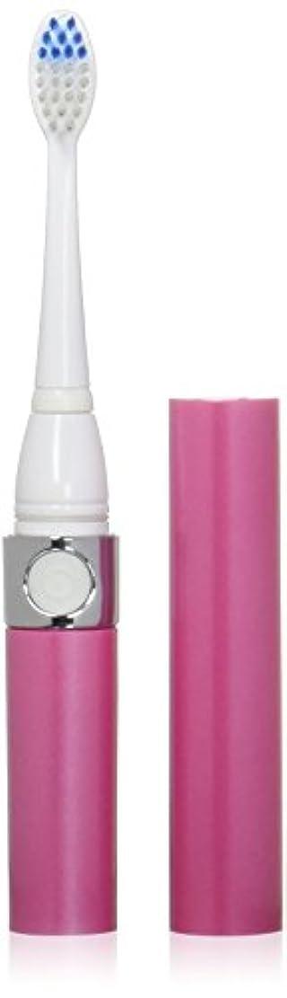 インチインフルエンザクレーター音波式電動歯ブラシ ピンク 替ブラシ2本付