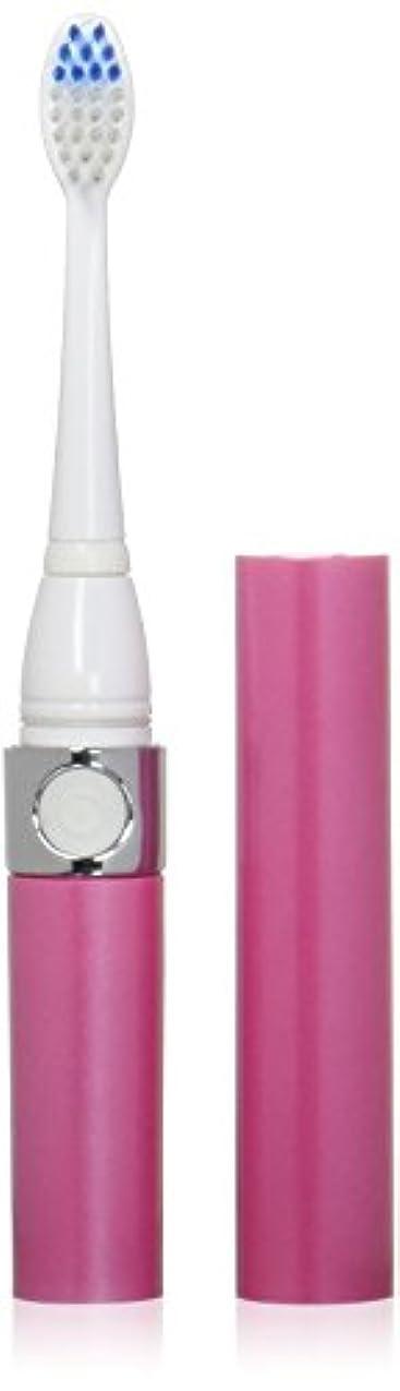 ペンスピア地雷原音波式電動歯ブラシ ピンク 替ブラシ2本付