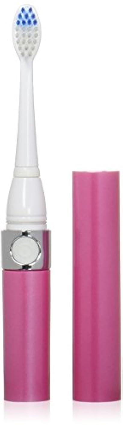 酔った自分の力ですべてをする目に見える音波式電動歯ブラシ ピンク 替ブラシ2本付
