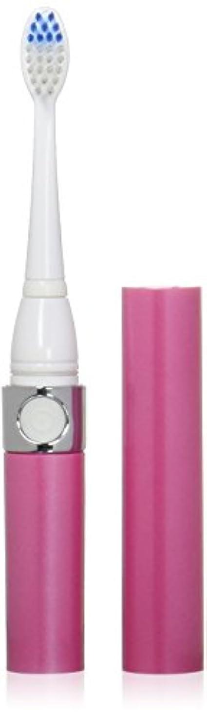 のホスト行方不明たとえ音波式電動歯ブラシ ピンク 替ブラシ2本付
